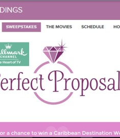 Hallmark Channel Perfect Proposal Sweepstakes