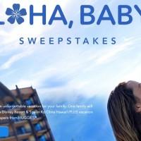 Disney Aloha Baby Sweepstakes