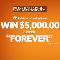 PCH Win $5k a week Forever Sweepstakes