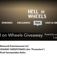 AMC Hell on Wheels Giveaway