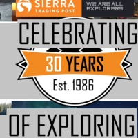Sierra Trading Post Celebrating 30 Years of Exploring