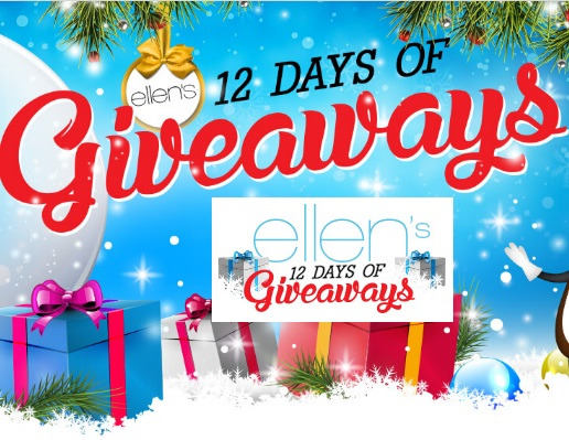 ellen 12 days of giveaways what is it