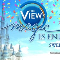 The View's Magic is Endless Sweepstakes