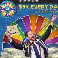 Wheel of Fortune $5k Every Day Sweepstakes