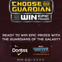 Doritos Guardians of the Galaxy Choose Your Guardian Instant Win