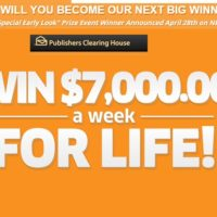Publishers ClPublishers Clearing House Win $7000 a week for lifeearing House Win $7000 a week for life