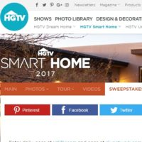 HGTV Smart Home 2017 Sweepstakes