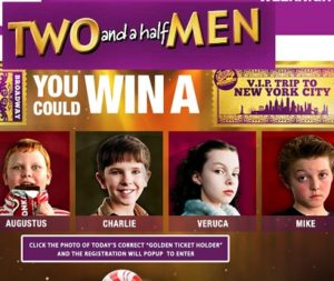 Two and a Half Men Win Like Charlie Sweepstakes