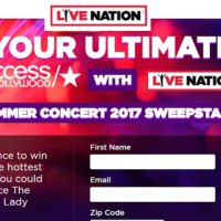 Access Hollywood Your Ultimate Summer Concert 2017 Sweepstakes
