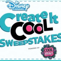 Disney Create It Cool Sweepstakes