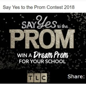 TLC Say Yes to the Prom Win a Dream Prom Contest