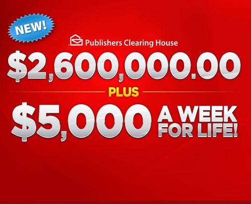 3 Million Dream Home Pch
