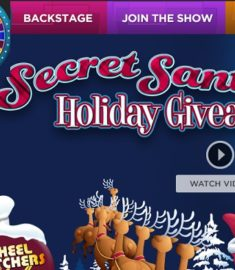 Wheel of Fortune Secret Santa Holiday Giveaway 2017