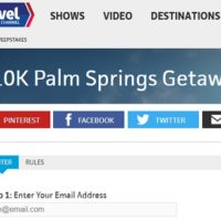 Travel Channel $10k Palm Springs Getaway