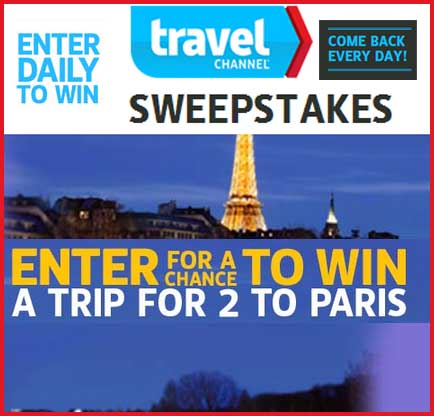 travel channel 10 000 sweepstakes free sweepstakes destination travel 7095