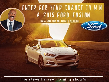 steve harvey sweepstakes steve harvey ford fusion sweepstakes sweeps maniac 1439